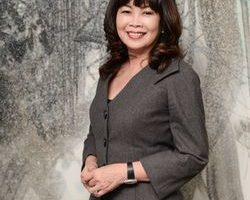 台中市品牌建商龙宝建设董事长张丽莉。(龚安妮/大纪元)