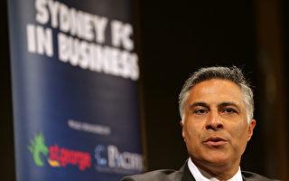 澳洲郵政總裁法赫爾 (Ahmed Fahour)突然決定辭職。 (Mark Metcalfe/Getty Images)
