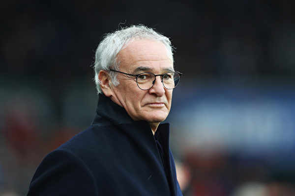 上赛季的英超最佳主帅——意大利人拉涅利。 (Michael Steele/Getty Images)