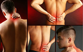 绝大多数人都会有肩颈疼痛或腰背疼痛的经验,研究表明,口服止痛药不但效果差,且其副作用应力加避免。(Africa Studio/Shutterstock)