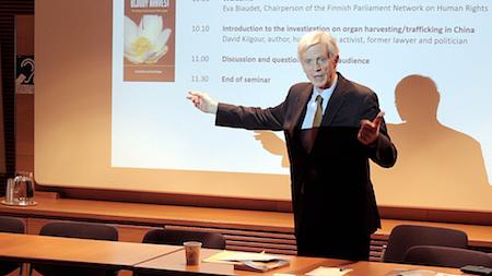 芬兰议会人权组织举办研讨会揭中共活摘罪行