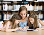 美國耶魯大學的研究顯示,多讀書或可降低死亡率,讓人延長壽命。圖為在圖書館閱讀的小女孩。(Fotolia)