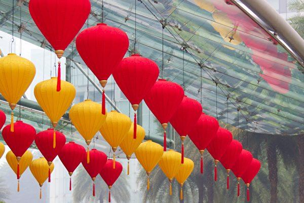 中国式灯笼。(Fotolia)