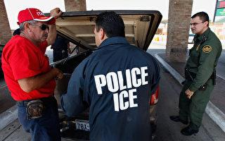 白宮計劃週二(2月21日)宣布展開大規模執法行動,聘僱數千名人員,加速遞解非法移民程序。(Scott Olson/Getty Images)