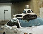 2016年19月开始,Uber测试自动驾驶车服务。(Jeff Swensen/Getty Images)