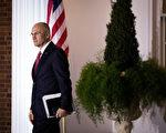 川普提名的勞工部長普斯德因為缺乏共和黨參議員的支持而決定退出。(Drew Angerer/Getty Images)