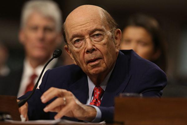 美國商務部長羅斯週一(5月1日)表示,川普(特朗普)總統不會以犧牲美國就業來和中國做交易,換取其幫助解決朝鮮問題。(Joe Raedle/Getty Images)