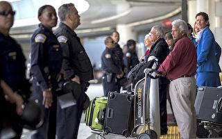 川普移民限制令暂停 移民抢搭赴美航班