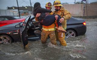 乾旱多年 南加州遭遇暴風雨 至少五死