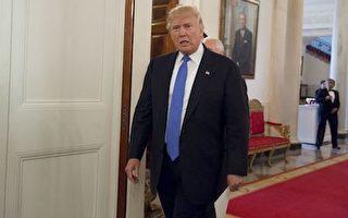 川普(特朗普)25日發推文宣佈,今年不會參加「白宮記者協會晚宴」。此舉將打破近百年來美國總統出席這一晚宴的慣例。(SAUL LOEB/AFP/Getty Images)