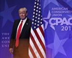 周六(25日)在保守派政治行动大会(CPAC)上所做的民意测验结果显示,保守派对川普的支持率高达86%。(Photo by Alex Wong/Getty Images)