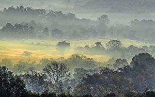 黄荣德的大雾山摄影作品。 (黄荣德提供)