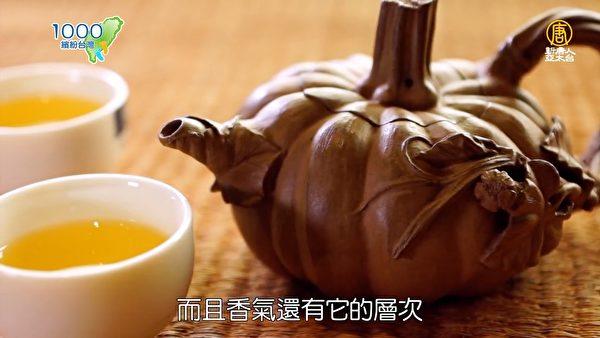 林松本老师作品─南瓜壶。(新唐人亚太台提供)