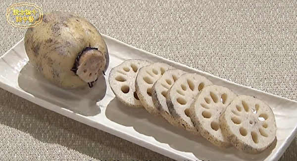 莲藕节可以治疗肺热。(谈古论今话中医提供)