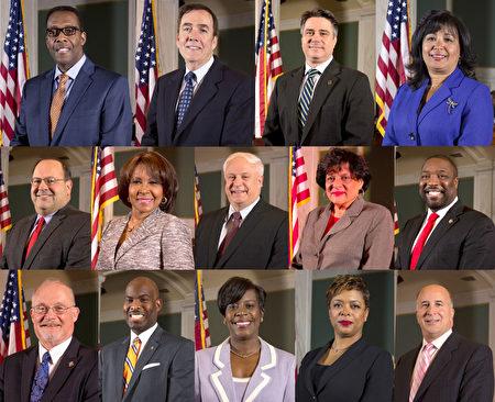 費城市議會議長Darrell L. Clarke及13位市議員向神韻藝術團發出褒獎。
