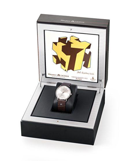 艾美錶一款限量錶(黑森林旅遊局提供)