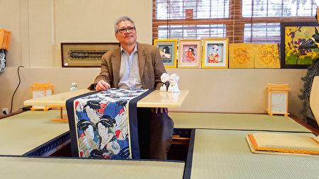 湾区Murasaki榻榻米老板Thomas Yan,有30年经营历史。(旧金山湾区日式家具Murasaki提供)