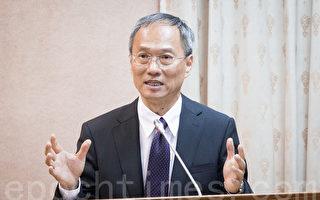 僑委會委員長吳新興表示,僑胞多支持中華民國台灣、認同國家的自由民主與重視人權,所以僑委會不會砸錢「和中共PK」。(陳柏州/大紀元)