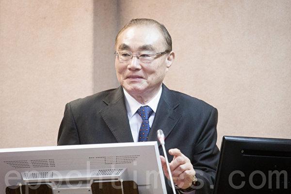 國防部長馮世寬20日證實,中共火箭軍已部署可對台灣本島遂行精準打擊的「東風16型彈道飛彈」。(陳柏州/大紀元)