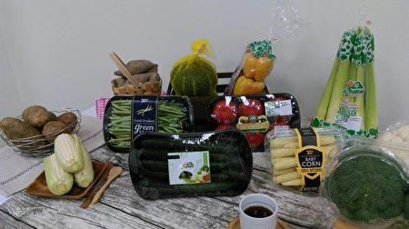高雄在地優質農產品。(高市農業局提供)