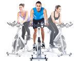 运动自行车纺纱训练骑马(fotolia)