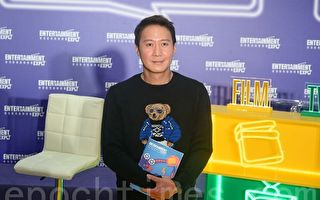 2017年3月2日,黎明(Leon)出席香港影視博覽月開幕典禮,呼籲香港影視業發揮創意。(宋祥龍/大紀元)