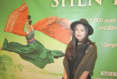 北京留學生王小姐說,大法「真、善、忍」三個字的真理,激發了她內心的感觸,「激發了人性的回歸、生命的回歸、對善的回歸,就是一種返樸歸真。」(李佳/大紀元)