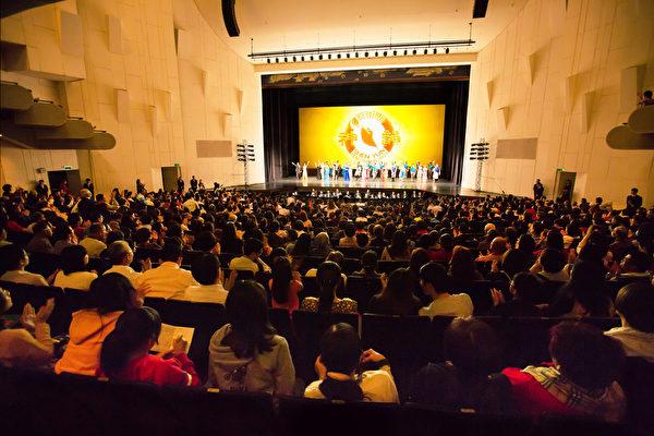 2017年3月11日下午,美国神韵纽约艺术团在台南市立文化中心的演出。(陈霆/大纪元)