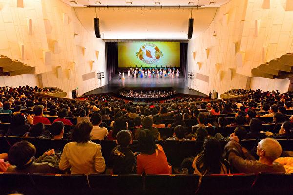 2017年3月11日晚间,神韵纽约艺术团在台南文化中心的演出。(郑顺利/大纪元)
