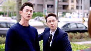 吳慷仁(左)和劉書宏(右)在新作《極品絕配》中對戲,擦出不少火花。(三立提供)