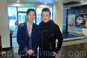 石修将首度跟香港话剧团合作,联同陈国邦演出《红梅再世》。(宋碧龙/大纪元)