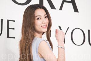 艺人田馥甄(Hebe)3月22日在台北出席代言活动。(陈柏州/大纪元)