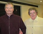 Margaret Hight夫人与George Hight先生第二次看神韵,还是被神韵的舞蹈和音乐所震撼。(文华/大纪元)