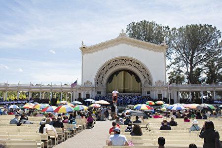 華聖合唱團參加聖地亞哥大合唱
