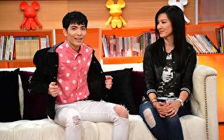 萧敬腾(老萧)和林熙蕾私交甚笃,图为上节目录影。(TVBS提供)