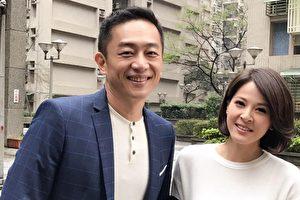 演员陈昭荣(左)受民视之邀参与《春花望露》演出和苏晏霈(右)演对手戏。(民视提供)
