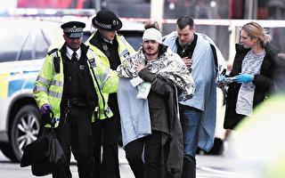 议会大厦门前的恐怖袭击导致四人死亡( 除凶手外),50 余人受伤。(Carl Court/Getty Images)