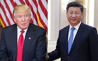 美国总统川普(特朗普)和中共主席习近平会面日期,确定是4月6日及7日。( NICHOLAS KAMM/AFP/Getty Images)
