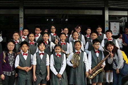 民富國小管樂團20年來一路走來酸甜苦辣。(新竹市府提供)