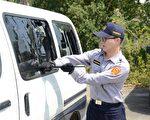 苗警破窗教育训练,提升组合警力威力。(苗栗县警察局/提供)