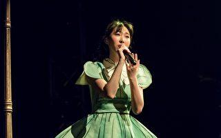 王若琳上海体育馆举办演唱会。(索尼提供)