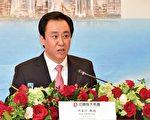"""恒大集团董事局主席许家印表示,集团认为中国市场比较好,没有""""走出去""""的计划,未来几年无意到香港发展。(郭威利/大纪元)"""