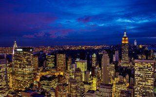 在美國,最容易讓你熱得出汗多的城市不在南部,而是紐約市。圖為曼哈頓中城東區。(Afton Almaraz╱Getty Images)