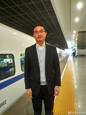 云南刘文华律师给江西杀村官老农提供免费的法律援助,维护老农的权益。(网路图片)
