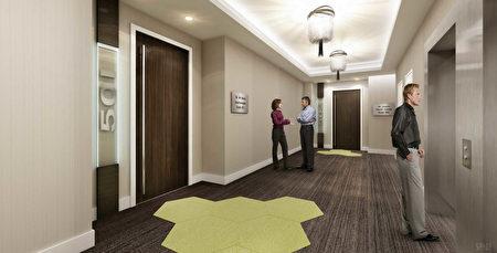 高规格电梯(Arlington Street Investments提供)。