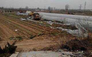 咸陽曹家寨耕地被強徵 農民奮起維權