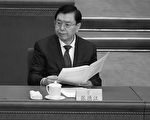 Chairman of the Standing Committee of China's National People's Congress (NPC), Zhang Dejiang attends the opening session of the Chinese People's Political Consultative Conference (CPPCC) at the Great Hall of the People in Beijing on March 3, 2015. Thousands of delegates from across China and the Chinese leadership will gather for its annual legislature meetings from March 3 in Beijing. AFP PHOTO / WANG ZHAO        (Photo credit should read WANG ZHAO/AFP/Getty Images)