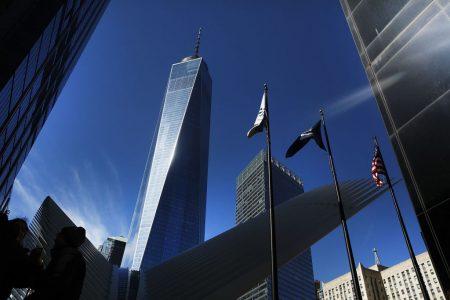 """一个世贸中心的办公室""""地址""""租金要249美元/月。 (Spencer Platt/Getty Images)"""