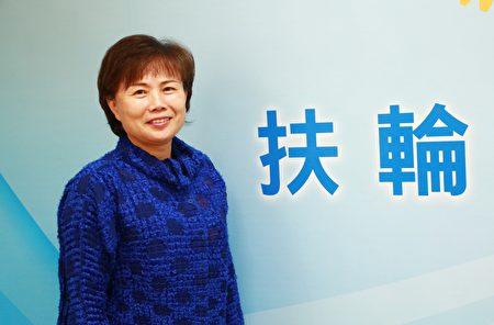 3510地区总监李素凤。(陈莹聪/大纪元)