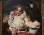 《The Calmady Children》,英国画家Sir Thomas Lawrence(托马斯.劳伦斯爵士)作品,美国纽约大都会美术馆藏。(行云提供)